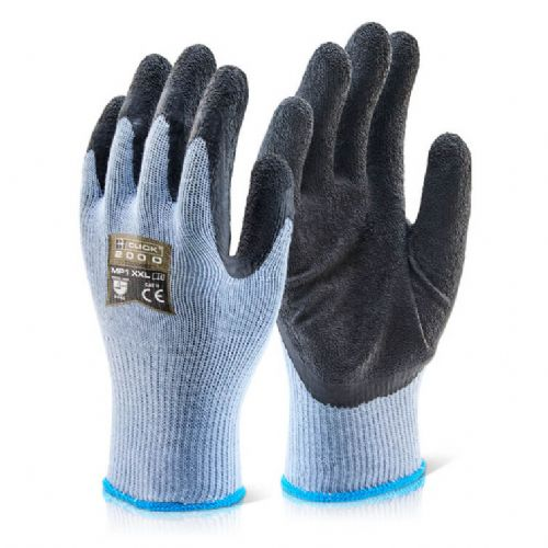 Click Multi Purpose Black Grip Gloves - 100 Pairs